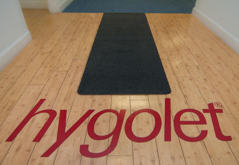 Hygomat Floor Runners Hygomat Antimicrobial Urinal Mats